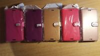 Book, wallet style PU leather flip phone case, cover to fit Sony Xperia M4 Aqua