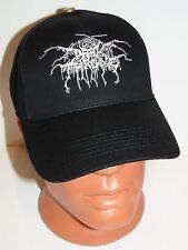 DARK THRONE black cap hat NEW embroidered logo black metal