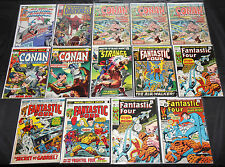Silver-Bronze Marvel, Dc & Charlton Titles 175pc Count Comic Lot Grade Vf