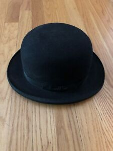 Vintage Mallory Bowler Hat size 7 - Great condition!