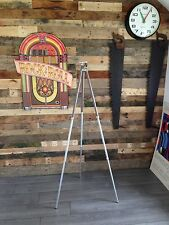 HEIGHT ADJUSTABLE MID CENTURY CAMERA TRIPOD QUICK SET INC USA STAND LIGHT LAMP