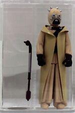 Star Wars Vintage Loose Rare Tusken Raider (Sand People) Hollow Cheeks AFA U90 #