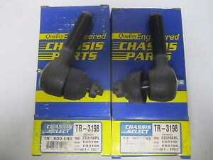 93-97 Chrysler Dodge Eagle Outer Tie Rod End Pair (2) TR3198 ES3198RL