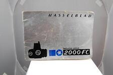 Hasselblad 2000FC caméra guide d'instructions, utilisé.