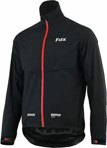 FDX Mens Waterproof Cycling Jacket Breathable Lightweight  Hiking Running Coat