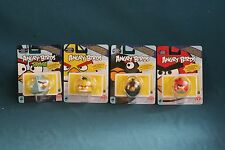 angry birds action figures 2012 rovio mattel new lot set of 4