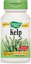 Kelp - 100 Capsules - Nature's Way