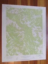 Mount Day California 1957 Original Vintage USGS Topo Map