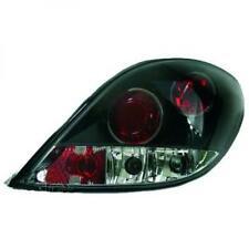 Rückleuchten Set für Peugeot 207 06-12 Klarglas/Schwarz Fließheck