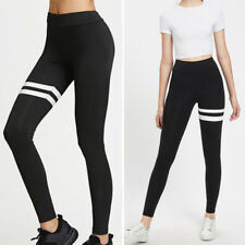 NEW Ladies Yoga Fitness Leggings Running Gym Stretch Sports Pants Trousers L601