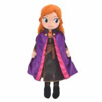 Anna Plush Doll Frozen 2 Disney Store Japan