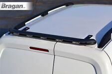 To Fit 2014+ Ford Transit Tourneo Courier Matte Black Rear Roof Light Bar + LEDs