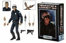"Terminator 2 (Judgment Day) Ultimate T-1000 Motorcycle Cop - 7"" figure (NECA)"