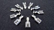 50 x Kabelschuhe 6,3mm Flachsteckhülsen 16-14 1,5-2,5mm Aderendhülsen