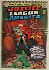 DC COMICS - JUSTICE LEAGUE OF AMERICA - # 45 - 1ST APPEARANCE OF SHAGGY MAN 1966