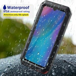 For Huawei P30 Aluminum Waterproof Shockproof Armor Full Protective Cover Case