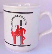 Vintage Methodist Church Mug Coffee Bicentennial England Cross Billy Graham
