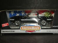 Ertl American Muscle 1969 Shelby GT-500 Limited Edition 1:18 Scale Diecast Car
