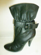Faith Stiletto 100% Leather Upper Ankle Boots for Women
