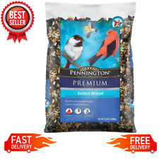 Wild Bird Premium Select Blend Feed and Seed Food Treats Year-Round, 20 lb. Bag