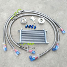 UNIVERSAL ENGINE TRANSMISSION OIL COOLER FILTER RELOCATION KIT 19 ROWS AN10 SL