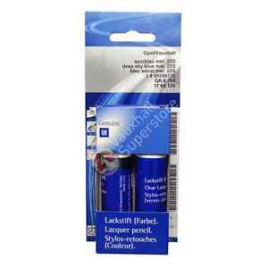 VAUXHALL TOUCH UP PAINT - GENUINE NEW - PAINT CODE 22S - DEEP SKY BLUE
