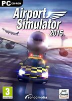 AIRPORT SIMULATOR 2015     ---- JEU NEUF POUR PC