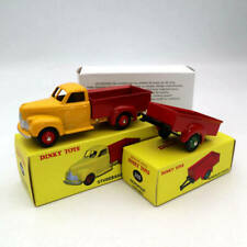 RARE DINKY TOYS STUDEBAKER DELIVERY TRUCK  WITH TRAILER MINT IN BOX SEALED