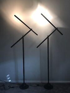 MARIO ARNABOLDI MIRA ITALIAN FLOOR LAMPS 1983 MODERN ITALY ARTELUCE VINTAGE