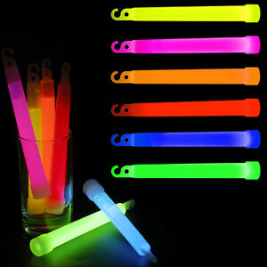 Premium Glow Sticks Party Favors Neon Color Safety Light Individually Wrapped 25