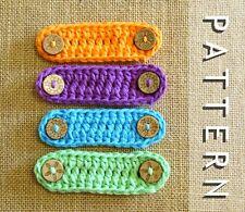 DIY CROCHET FACE MASK EXTENDER PATTERN Ear Saver Relief Loop Paper Patterns 0162