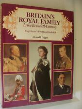 Britain's Royal Family in 20th Century Edward VII - Elizabeth II by Edgar 1979