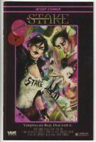 Stake #1 Secret VHS Variant Scout Comics Bryne Francesca Vampire Rare 2021
