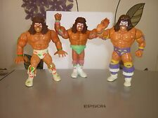 HASBRO WWF WWE  THE ULTIMATE WARRIOR SERIES 1 + 2 + 3 COMBINED P+P 2 OR MORE