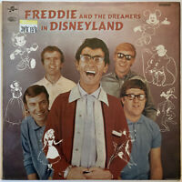 FREDDIE AND THE DREAMERS IN DISNEYLAND LP COLUMBIA UK MONO 1966 PRO CLEANED