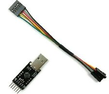 USB to TTL Converter Module for FT232 FTDI MWC Multiwii Arduino 6P DuPont Line