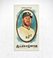 2017 Topps Allen and Ginter Mini #153 Sean Doolittle - NM-MT