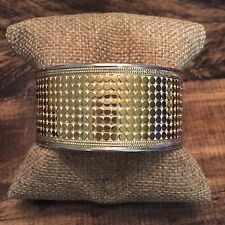 Gorgeous 18K Gold-Plated Anna Beck Medium Multi-Disc Cuff {Current! $600}