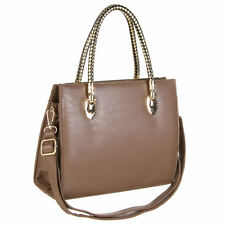 Sac a main , besace shopping camel jerry leather collection
