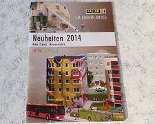 Faller -- Neuheiten Katalog 2014     3-sprachig, deutsch-engl-franz