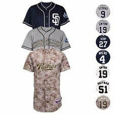 San Diego Padres Authentic On-FIeld Cool Base Jersey Collection MAJESTIC - Men's
