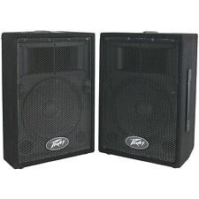 "Peavey PVi 10 2-Pack 10"" 2-Way Professional PA Speaker"