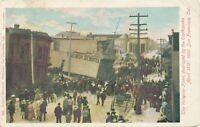SAN FRANCISCO CA - The Valentine Hotel Destroyed by the April 1906 Earthquake