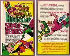 SUPER HEROS - MARVEL HIGH CAMP SUPER HEROES pb book UNREAD1966