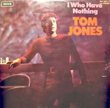++TOM JONES i who have nothing LP DECCA UK daughter of darkness RARE++