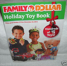 #8283 Family Dollar Stores 2013 Holiday Toy Catalog