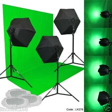 Linco Studio 3 Color Backdrop Light Lighting Photography Softbox Backdrop Stand