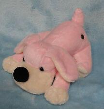 """FAO Schwarz Plush Penelope Pink Puppy Dog Small Stuffed Toy 7"""""""