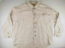 KL007 Heavy thick linen medieval viking larp overshirt fits 4XL, bone buttons!