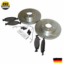 Complete Drilled & Slotted Brake Kit, Front, Front brake WJ/WG Grand Cherokee